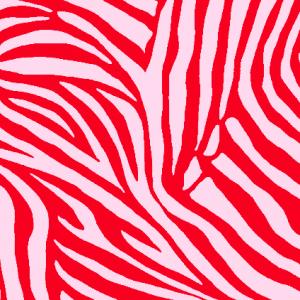 Red Pink Zebra